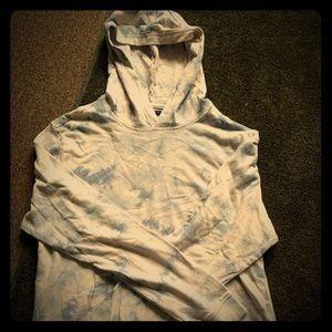 American Rag tie dye hoodie large